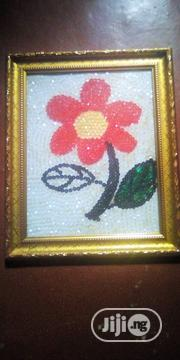Rose Flower Wall Frame | Arts & Crafts for sale in Abuja (FCT) State, Gudu