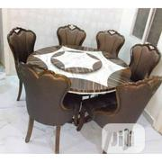 Marble Dining Table With Six Chairs | Furniture for sale in Lagos State, Ikorodu