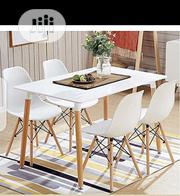 This Is Brand New Quality Dining Table Four Seaters It Is Very Strong | Furniture for sale in Lagos State, Ajah