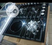 New One Cabinet Cooker Burners 3 Gas and 1 Electric Auto Ignition | Kitchen Appliances for sale in Lagos State, Ojo