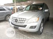 Mercedes-Benz M Class 2009 ML350 AWD 4MATIC Silver | Cars for sale in Lagos State, Amuwo-Odofin