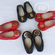 Red and Black Slipon for a Girl Child Available   Children's Shoes for sale in Lagos State, Lekki Phase 2