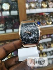Bulova Goldfaced Leather Wristwatch | Watches for sale in Lagos State, Ikeja