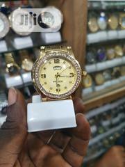 Emporio Armani Police Gold Wristwatch For Ladies | Watches for sale in Lagos State, Ikeja