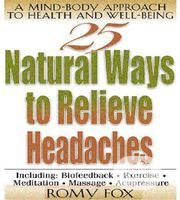 Self Help 25 Natural Ways To Relieve Headaches [E-book] | Books & Games for sale in Ondo State, Akure