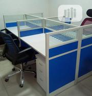 A New Smart 4-Seater Office Workstation Table | Furniture for sale in Lagos State, Lekki Phase 2
