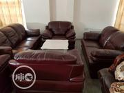 Foreign Seven-seater Portable Chair Leather Chair | Furniture for sale in Delta State, Oshimili South