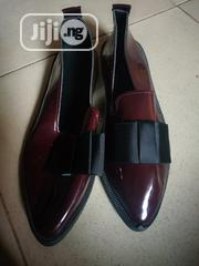 Ladies Flat Formal Shoe- Black And Wine Colours | Shoes for sale in Rivers State, Port-Harcourt