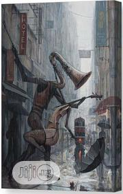 Life Is Dance in the Rain Canvas Print | Arts & Crafts for sale in Lagos State, Surulere