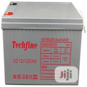 Techfine 12V 200AH Battery | Solar Energy for sale in Lagos State, Victoria Island