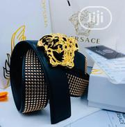 Original Versace Leather Belt For Men's   Clothing Accessories for sale in Lagos State, Lagos Island