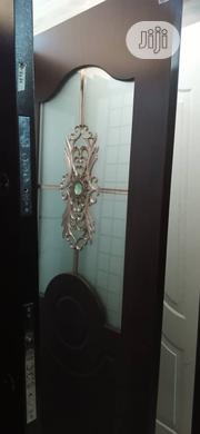 840 /3ft Turkey Solid Wooden Door With Glass | Doors for sale in Lagos State, Orile