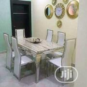 Marble Dining With Six Chairs   Furniture for sale in Lagos State, Ojo