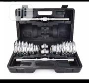 30kg Dumbbells Chrome Steel With Carrier Case | Sports Equipment for sale in Lagos State, Ikoyi
