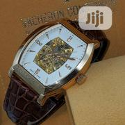 Vacheron Constantin Automatic Rose Gold Leather Strap Watch   Watches for sale in Lagos State, Lagos Island