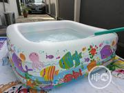 Kids 4corner Inflatable Swimming Pool That Can Take 4kids | Sports Equipment for sale in Lagos State, Surulere