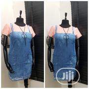 Non Detachable Denim Pinafore | Clothing for sale in Lagos State, Gbagada