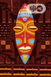 African Masquerade Poster | Arts & Crafts for sale in Lagos State, Lekki Phase 1