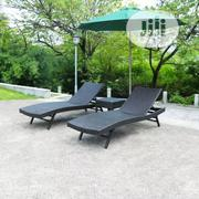Swimming Pool Relaxing Chairs With Umbrella | Sports Equipment for sale in Lagos State, Ojo