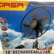 Qasa Rechargeable Fan 18 Inches | Home Appliances for sale in Lagos State, Lagos Island