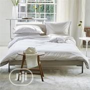 Duvet Cover-embellished(Crispy White Plain) | Home Accessories for sale in Lagos State, Ajah