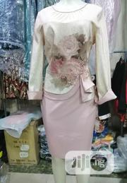 Turkey Peach Colour Skirt And Blouse Top | Clothing for sale in Lagos State, Magodo
