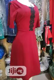 Red Gown Fr Outings, Suitable for Pregnant Woman Too | Clothing for sale in Lagos State, Ojo