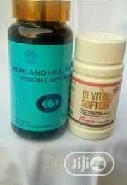 Norland Vision Gi Vital Work Perfect For Glaucoma And Cataract 100% | Vitamins & Supplements for sale in Lagos State, Lagos Island