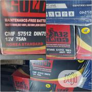 Expanded Grid Orignal Korea Standard Car Battery 75ah | Vehicle Parts & Accessories for sale in Lagos State, Ikoyi