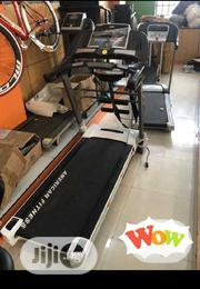2.5hp Treadmill With Massager AMERICAN FITNESS | Sports Equipment for sale in Lagos State, Yaba