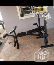 Weight Bench With 50kg Dumbbell | Sports Equipment for sale in Lagos State, Lekki Phase 2