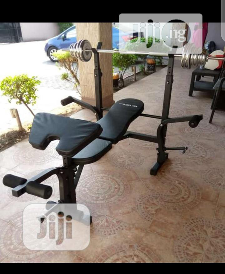 Archive: Weight Bench With 50kg