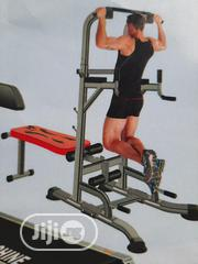 Pull Up,Adjustable Bench And Pushup Bar   Sports Equipment for sale in Lagos State, Apapa