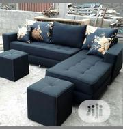 L Shaped Sofa With Two Stool | Furniture for sale in Lagos State, Ajah