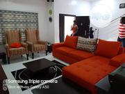 Quality Fabric L Shape With Two Console | Furniture for sale in Lagos State, Ajah