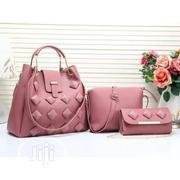 Trendy Pink 3in1 Hand Bag | Bags for sale in Lagos State, Isolo