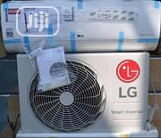 LG 1.5hp Gencool Inverter Super Cool ( Copper) Big Engine + 2 Years | Home Appliances for sale in Lagos State, Ojo
