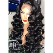 Double Drawn Bouncing Curl Wig 100% Human Hair | Hair Beauty for sale in Lagos State, Ikeja