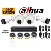 Dahua 2mp Camera 2pcs Domes, 2pcs Bullet Kits | Security & Surveillance for sale in Lagos State, Ikeja