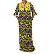 Glamour Ankara Maxi Dress | Clothing for sale in Lagos State, Ikeja