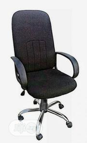 Fabric High Back Swivel Office Chair | Furniture for sale in Lagos State, Gbagada