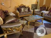 8 Seater Foreign Imported Turkey Chairs With Center Table   Furniture for sale in Lagos State, Ikeja