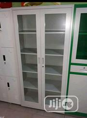 Brand New Imported Double Doors Glass Metal Book Shelve. | Doors for sale in Lagos State, Yaba