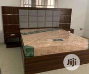 High Quality Bed Frame+ Mattress | Furniture for sale in Lagos State, Ojo