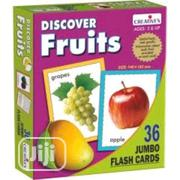 Discover Fruits- Jumbo Flash Cards | Babies & Kids Accessories for sale in Lagos State, Amuwo-Odofin