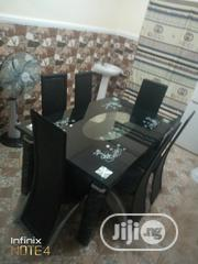High Quality Glass Dining Table With Six Chairs   Furniture for sale in Lagos State, Ikotun/Igando