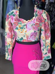 Floral Cropped Top | Clothing for sale in Lagos State, Ikeja