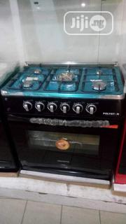 Brand New Polystar 5burners Standing Gas Cooker Oven and Grill Bbc8099 | Kitchen Appliances for sale in Lagos State, Ojo