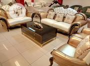 615 Swofa With Center Table And Stools   Furniture for sale in Lagos State, Lekki Phase 1