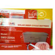 200ah SMS Gel Battery | Solar Energy for sale in Lagos State, Ojo